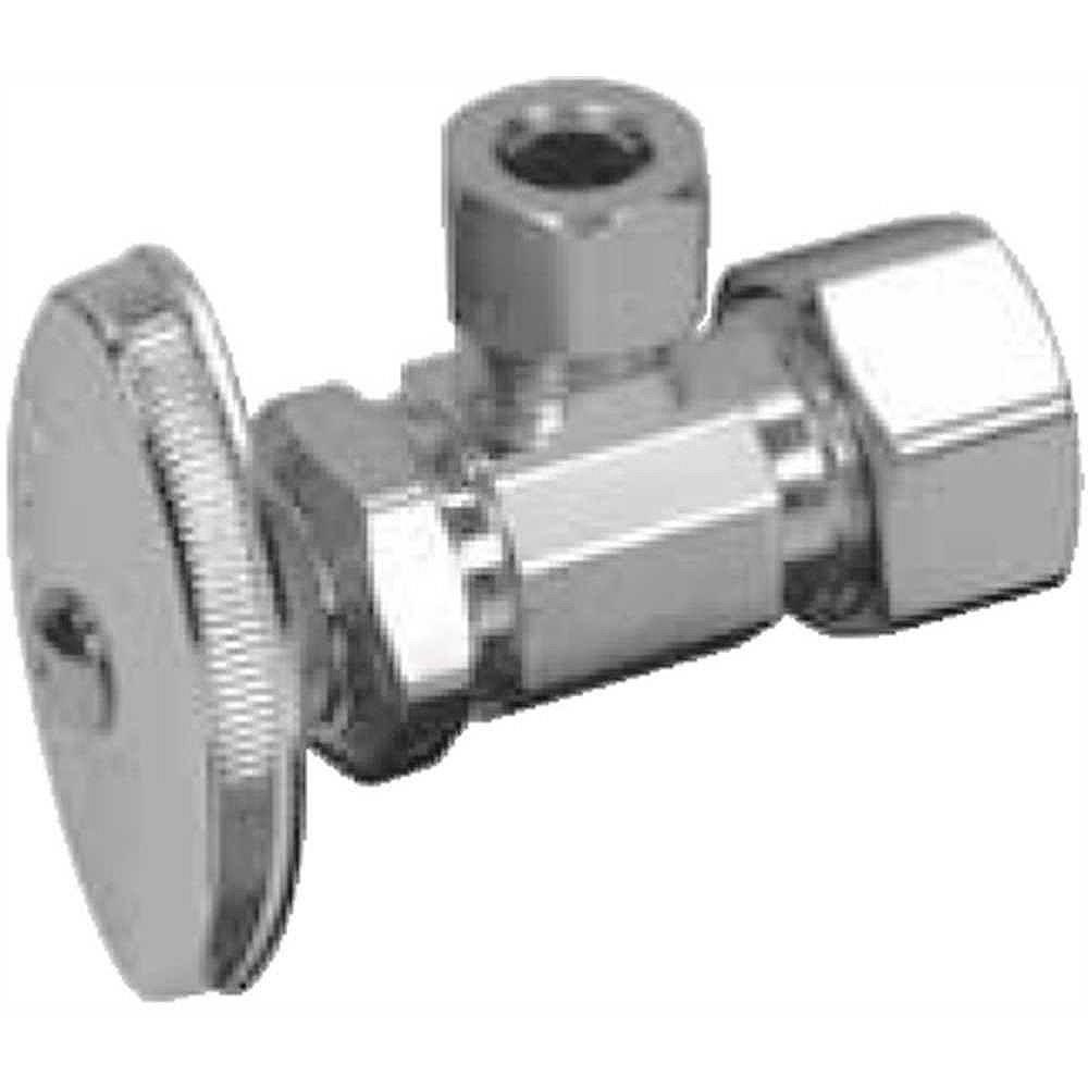 BrassCraft Angle Stop 1/2 inch Nom Comp X 3/8 inch Od Lead Free
