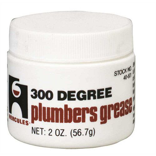 300 Degree Plumbers Grease Stem Lubricant 2 Oz.
