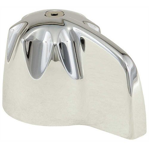Single Large Blade Handle in Chrome