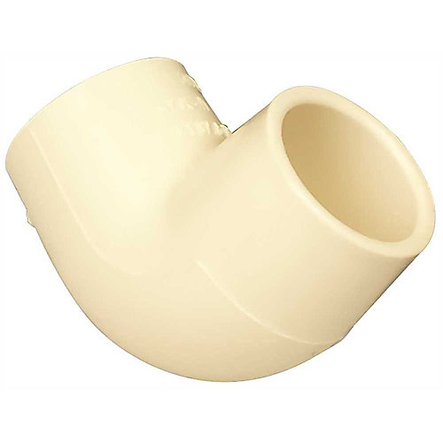 Cpvc 90 Deg Elbow, 1/2 inch
