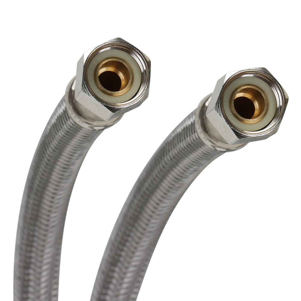 Fluidmaster Dishwasher Water Supply Connector, 3/8-inch Compression X 3/8-inch Fip, 60-inch
