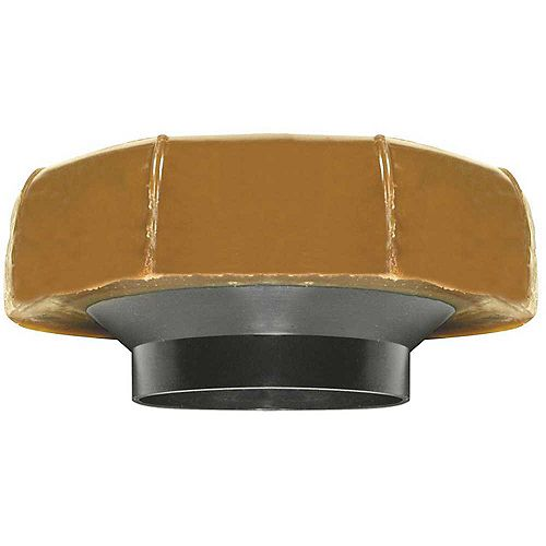Fluidmaster No. 10 Extra Thick Toilet Bowl Wax Ring Gasket With Plastic Flange Sleeve