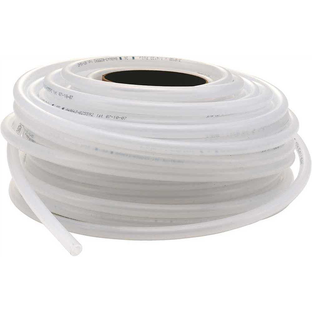 Sioux Chief Poly Tubing 1/4 inch Id X 3/8 inch Od, 100 ft.