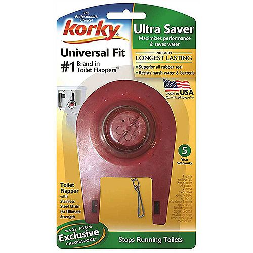 Plus Water Saver Flapper, 2 inch