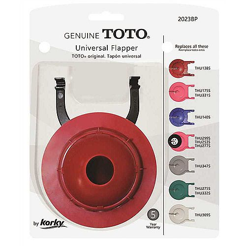 Genuine Toto Flapper, 3 inch