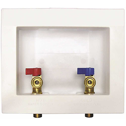 Proplus Washer Outlet Box With Valves