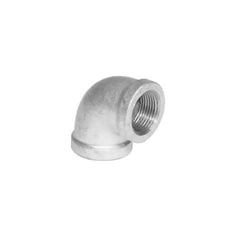 Galvanized Malleable 90 Degree Elbow, 1-1/2 inch Lead Free