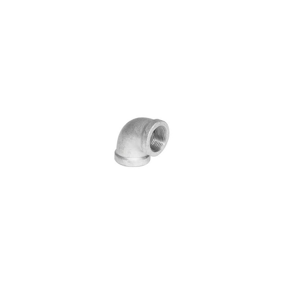 Proplus Galvanized Malleable 90 Degree Elbow, 1-1/2 inch Lead Free