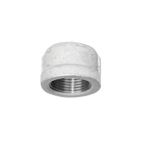 Galvanized Malleable Cap, 3/8 inch