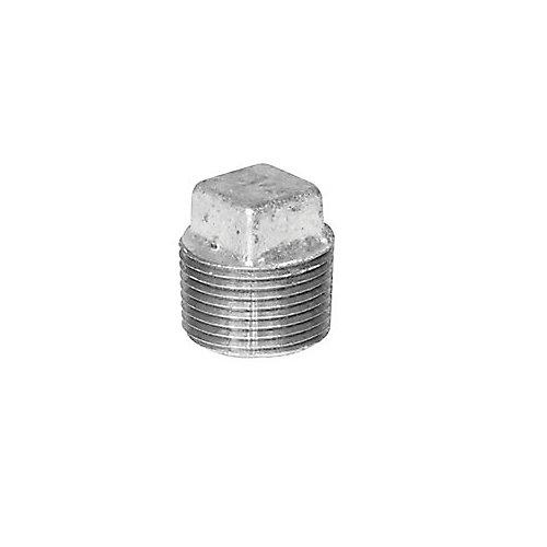 Galvanized Plug, 1/4 inch
