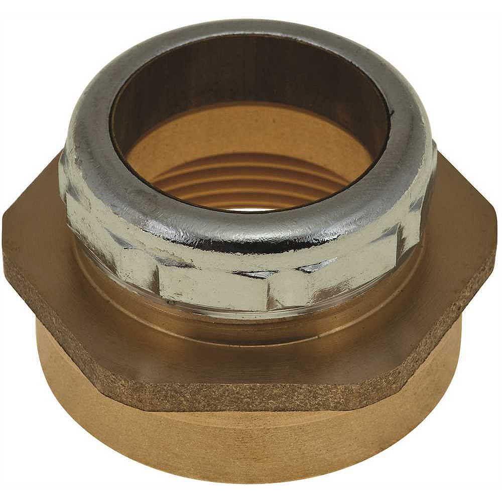 DuraPro Trap Connector, 1-1/4-inch Od X 1-1/2-inch Fip