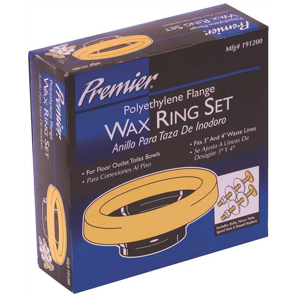 PREMIER Polyethylene Flange Wax Bowl Ring