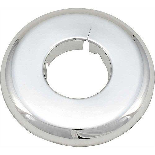 Proplus Split Escutcheon, 1/2 In. Ips, Chrome Plated Plastic