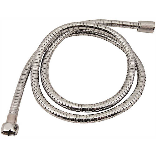 Premier Showerhead Hose, Chrome Plated Metal, 60 In.