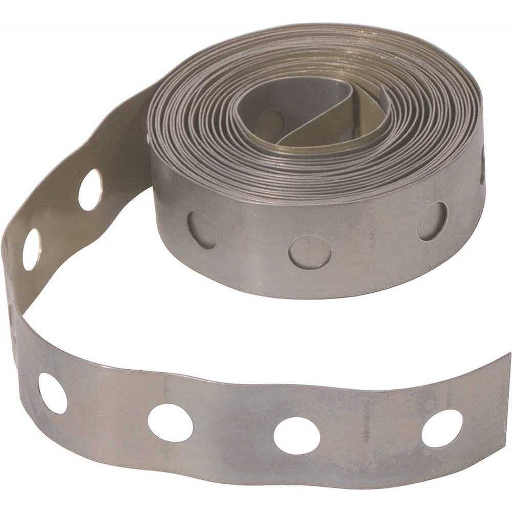 GREENFIELD MFG Hanger Strapping, Galvanized, 3/4 inch X 10 ft.