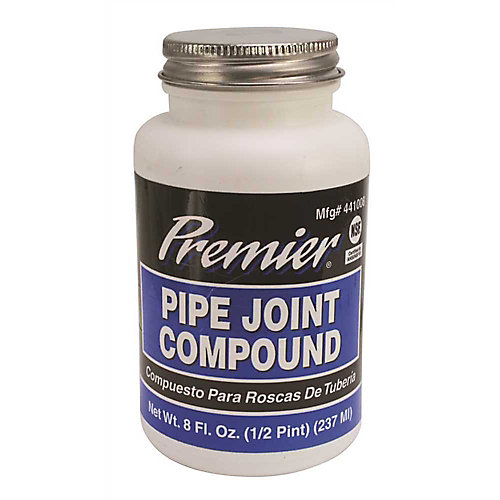 Premier Pipe Joint Compound, 8 Oz. Bottle