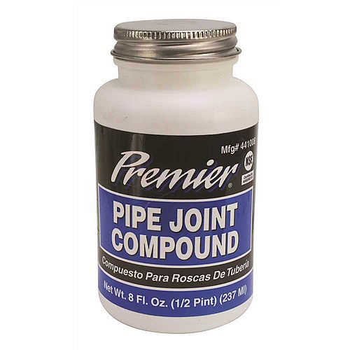 Pipe Joint Compound, 8 Oz. Bottle