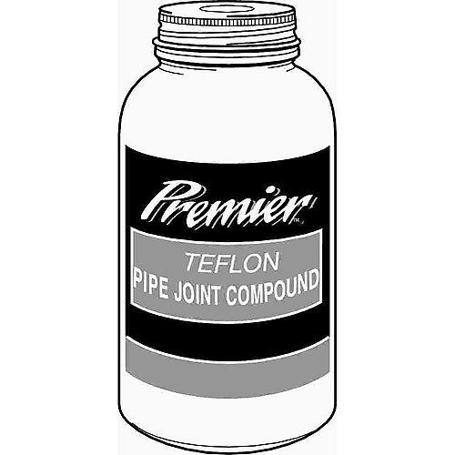 Premier Premium-Grade Teflon All-Purpose Pipe Joint Compound, 4 Oz. Bottle