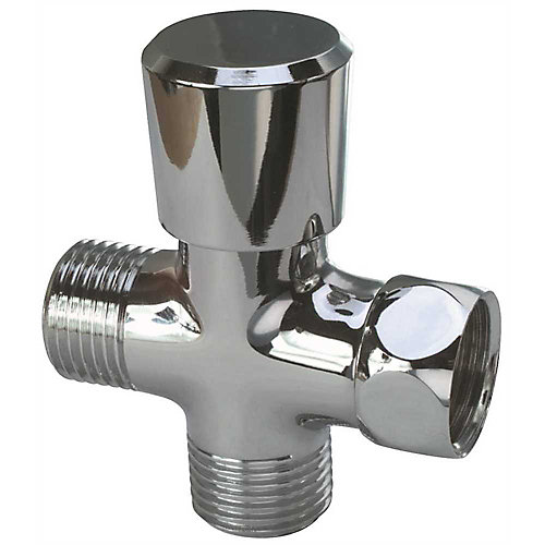Proplus Diverter For Handheld Showers, Chrome, 1/2 In. Ips