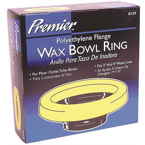 Polyethylene Flange Wax Bowl Ring