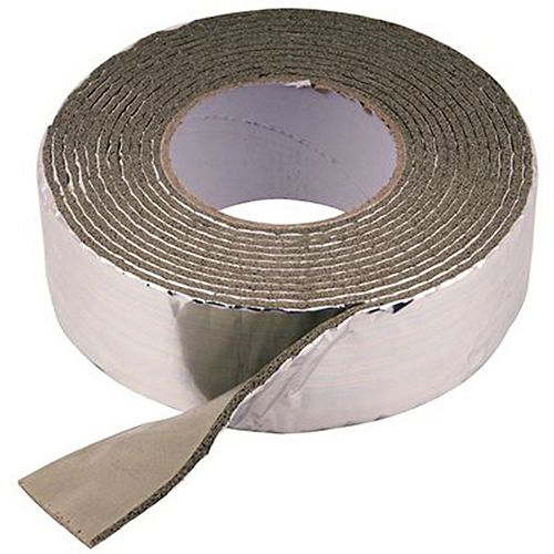 Foam And Foil Pipe Wrap 2 inch X 1/8 inch X 15 ft.