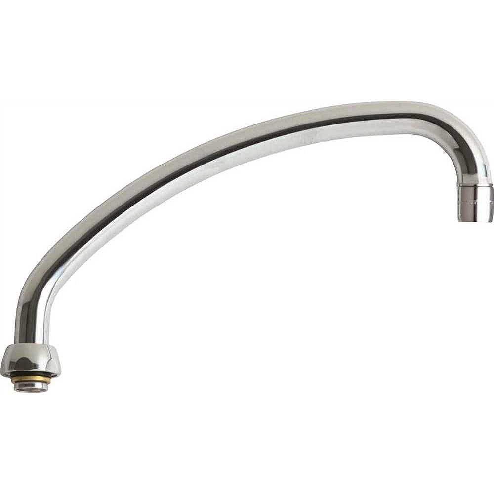 Chicago Faucets Faucet L Type Swing Spout, 9-1/2 inch, Lead Free