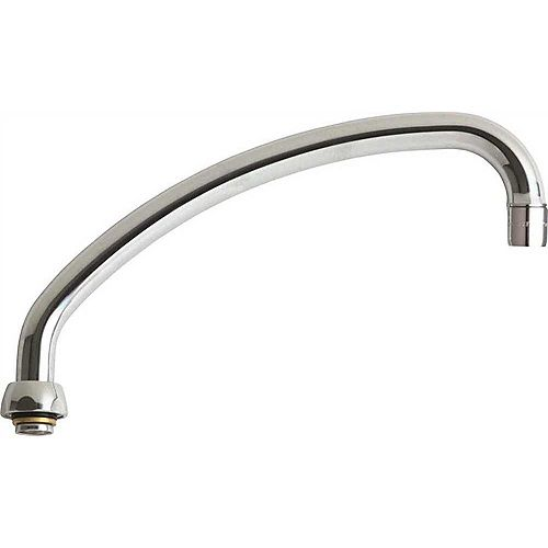 Chicago Faucet L Type Swing Spout, 9-1/2 In., Lead Free