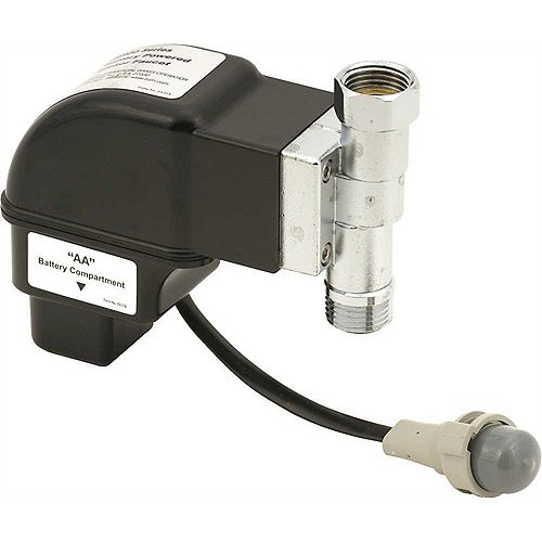 Electronic Box with Solenoid for Metering Faucet