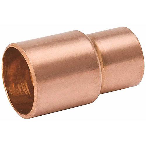 Raccord réducteur en cuivre X Cuivre