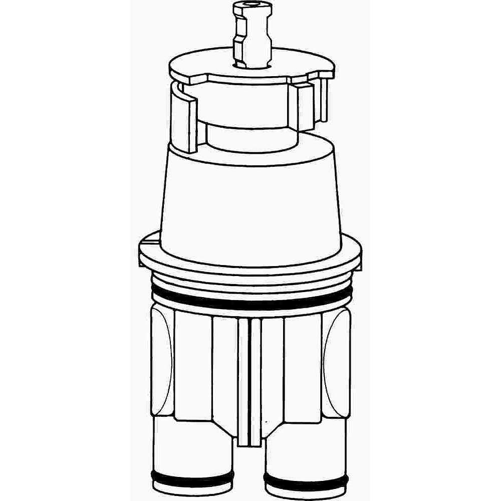 Delta Delta Pressure Balance Cartridge