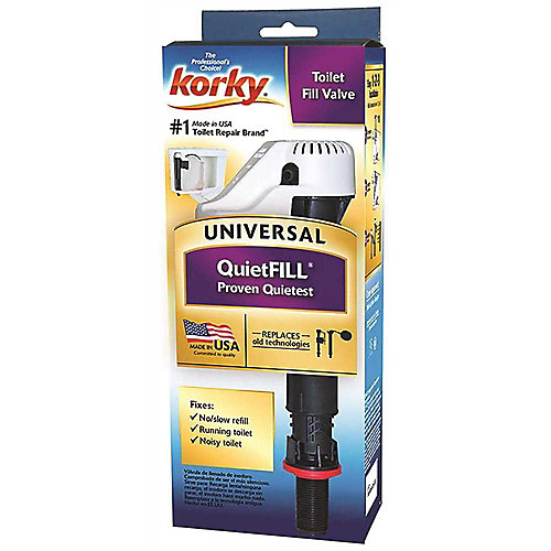 Quietfill Toilet Fill Valve