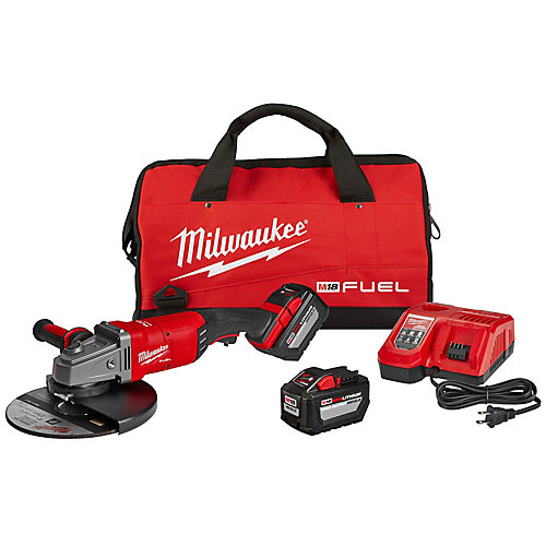 M18 FUEL 18-Volt Lithium-Ion Brushless Cordless 7 inch /9 inch Grinder W/ Paddle Switch Kit