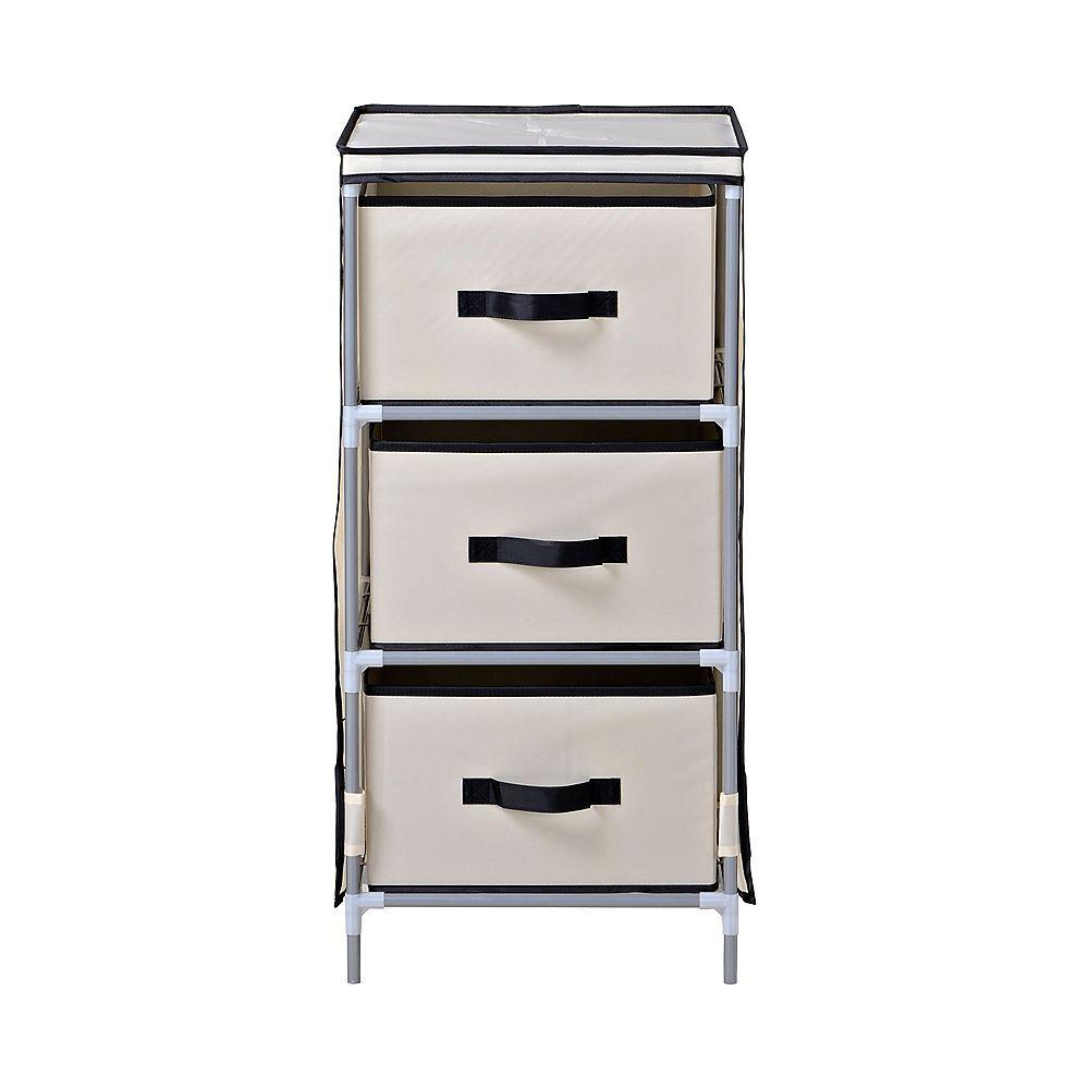 Homestar 3-Drawer Fabric Dresser
