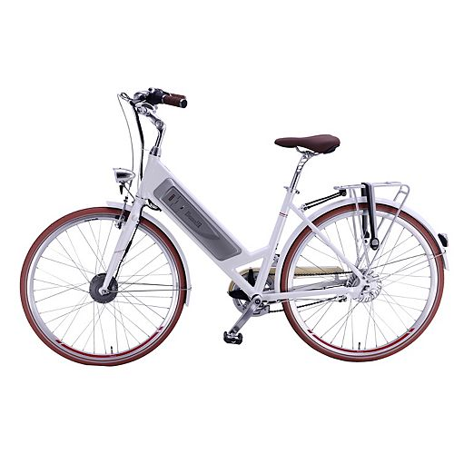 Classica LX 26 inch White Electric Bike