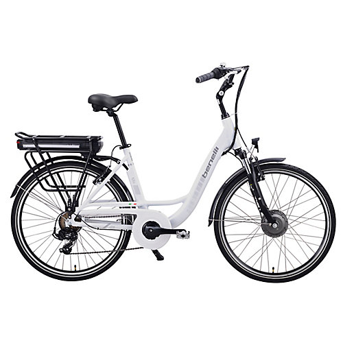 Mio 26-inch White Electric Bike