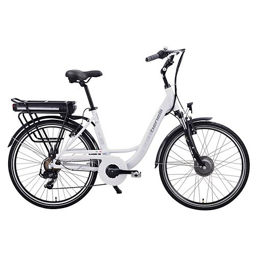 Mio 26-inch White Electric Bike
