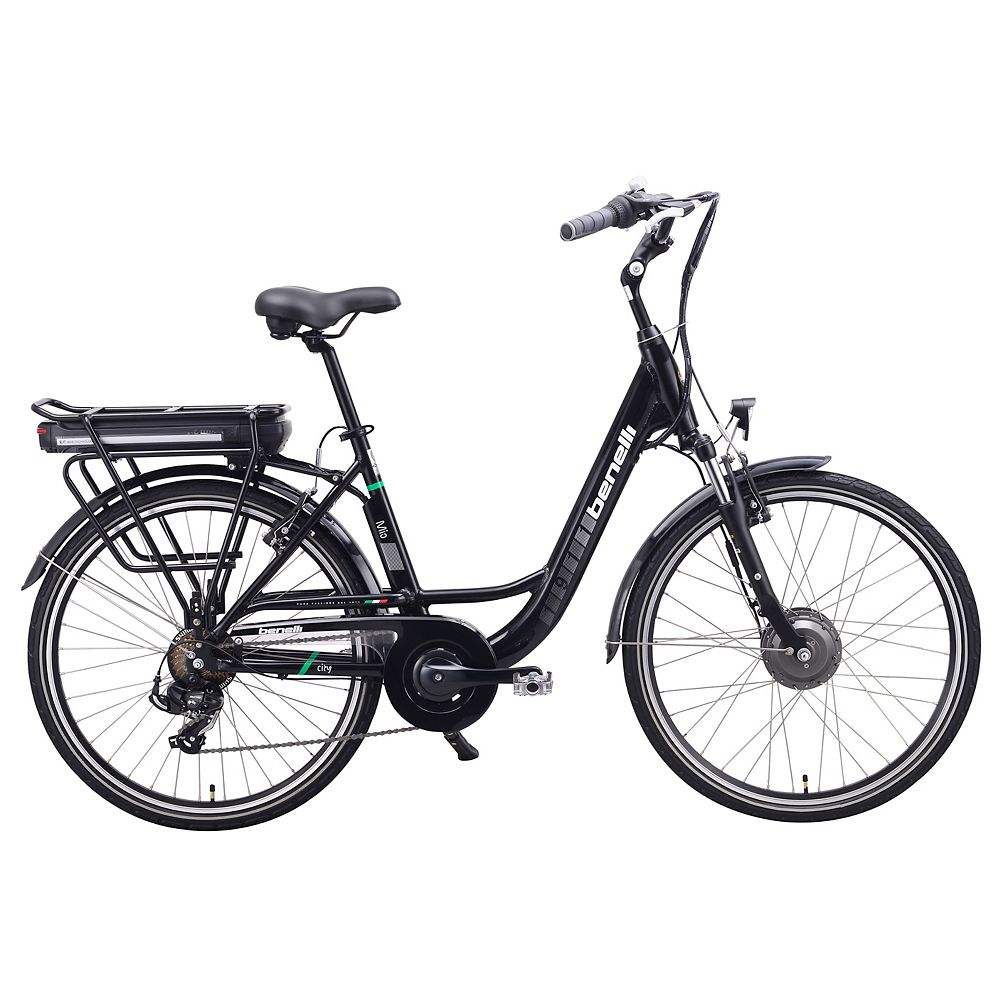 Benelli Mio 26-inch Black Electric Bike