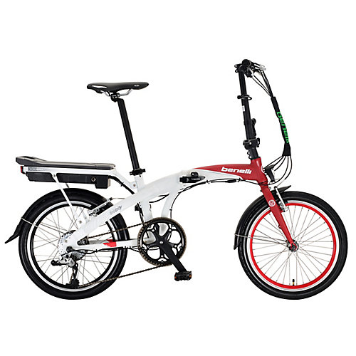 Foldecity 20-inch Red/White Electric Bike