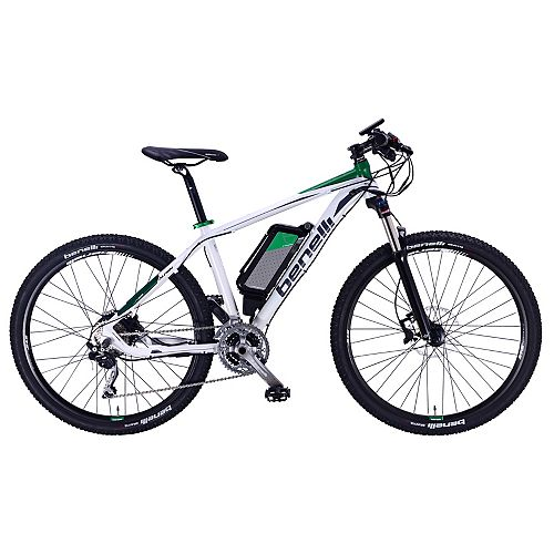 Alpan White Electric Mountain Bike