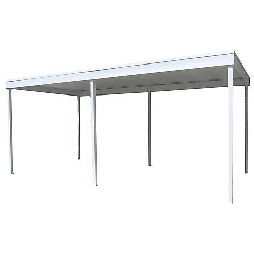 Toile pour abri d'auto/patio Freestanding, 10 x 20 pi. coquille d'uf