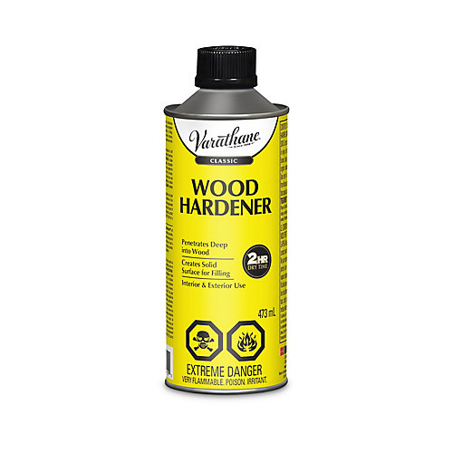 Classic Wood Hardener for Interior and Exterior, 473 Ml