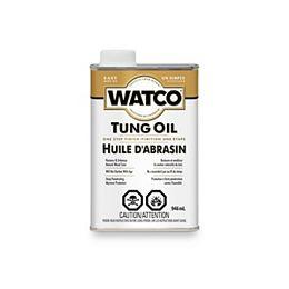 Finition en une étape à l'huile de tungstène pour une protection en profondeur contre l'humidité, 946 mL