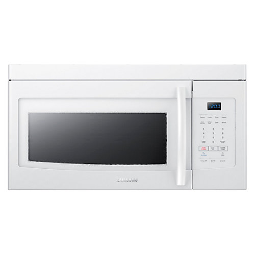 1.6 cu. ft. Over-the-Range Microwave White