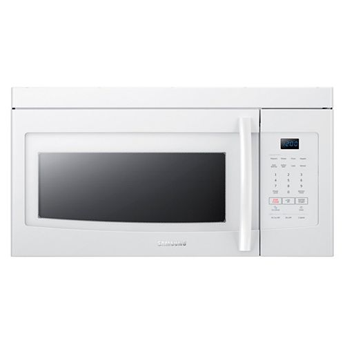 16.5-inch W 1.6 cu. ft. Over the Range Microwave in White