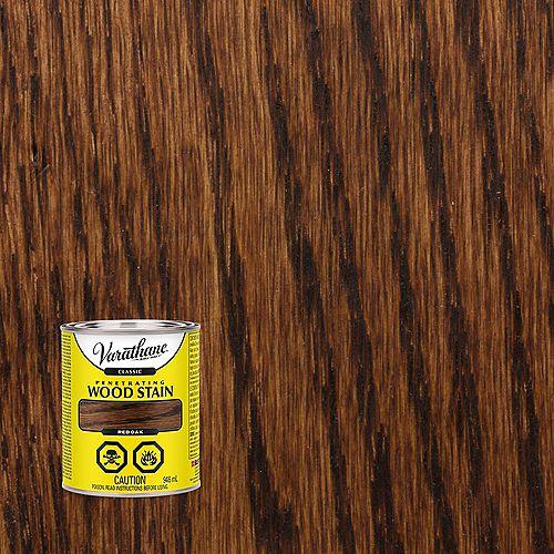 Varathane Teinture à bois classique pénétrante à base d'huile dans du chêne rouge, 946 mL