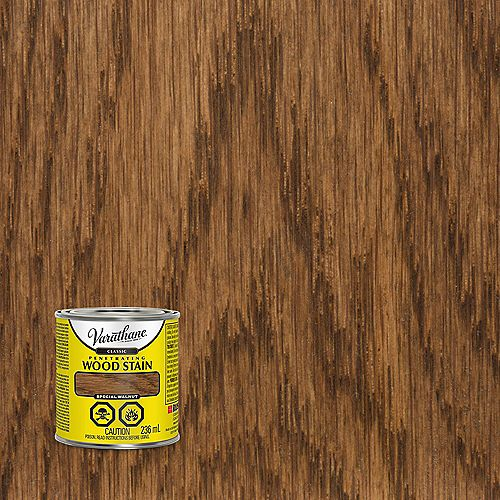 Classic Penetrating Oil-Based Wood Stain In Special Walnut, 236 mL