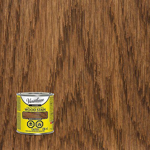 Teinture à bois classique pénétrante à base d'huile en noyer spécial, 236 mL