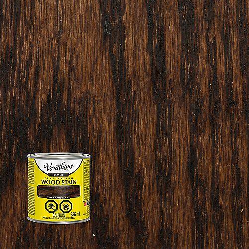 Teinture pour bois à l'huile pénétrante dans l'acajou rouge, 236 mL