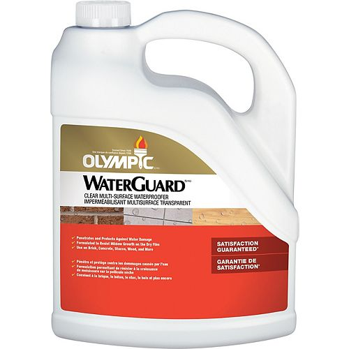 Olympic WaterGuard Clear Multi-Surface Waterproofer 3.78 L-55548XIC