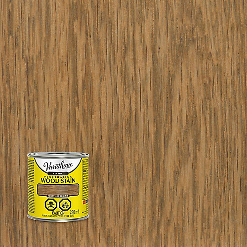 Classic Penetrating Oil-Based Wood Stain In Weathered Oak, 236 mL
